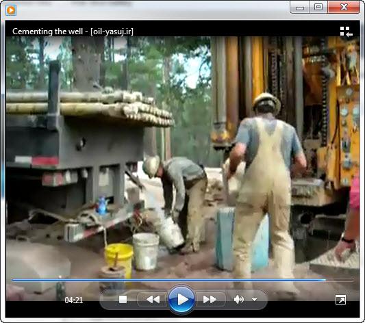 دانلود فیلم سیمان کاری چاه نفت
